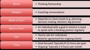 Thinking Partnership